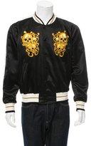 Alexander McQueen Skull-Embroidered Souvenir Jacket