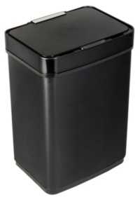 Honey-Can-Do 50L Stainless Steel Trash Can with Motion Sensor