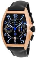 "Franck Muller Frank Muller Cintree Curvex ""Mariner"" 18K Rose Gold Chronograph Watch"