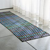 Crate & Barrel Allta Multi Indoor/Outdoor Rug Runner
