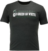 Colosseum Men's Michigan State Spartans Verbiage Stack T-Shirt