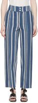 Chloé Blue Striped Lounge Pants