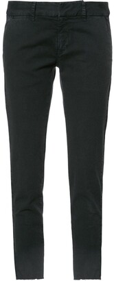 Nili Lotan Skinny Fit Cropped Trousers