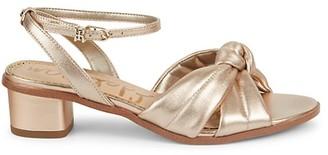Sam Edelman Ingrid Metallic Leather Sandals