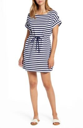 Tommy Bahama Amira Short Sleeve Stripe Dress