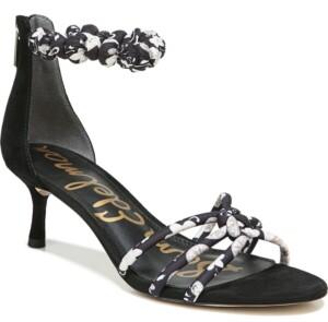 Sam Edelman Jayde Kitten Heel Strappy Sandals Women's Shoes