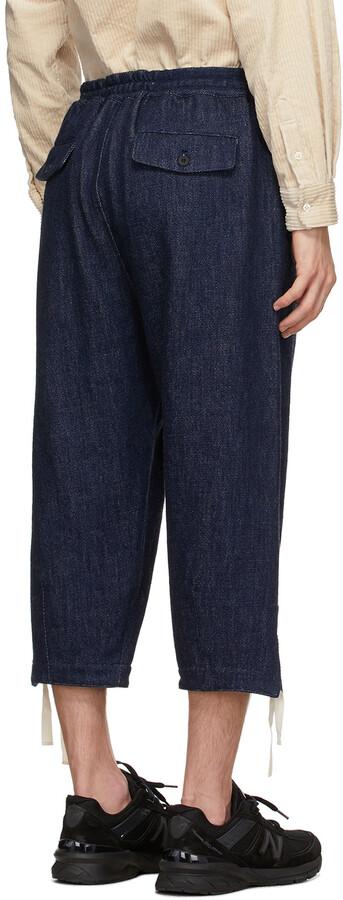 Thumbnail for your product : Kuro Indigo Denim Easy Trousers