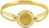 JCPenney FINE JEWELRY 14K Yellow Gold 1/10 oz. Liberty Dollar Coin Bangle