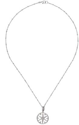 Annoushka 18kt white gold Mythology diamond small star necklace