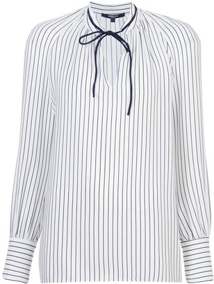 Derek Lam Sonia Striped Blouse