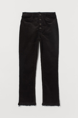 H&M Ankle-length Pants - Black
