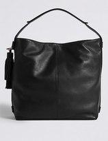 Marks and Spencer Leather Tassel Hobo Bag