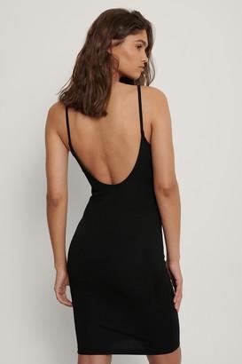 Danaë X NA-KD Thin Strap Jersey Dress