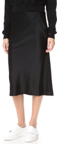 Alexander Wang Heavy Draped Satin Skirt