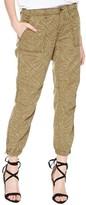 Sanctuary Women's Peace Trooper Print Crop Cargo Pants