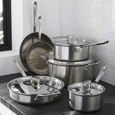 Crate & Barrel All-Clad ® d5 10-Piece Cookware Set with Bonus