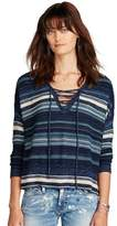 Denim & Supply Ralph Lauren Lace-up Tunic Sweater.