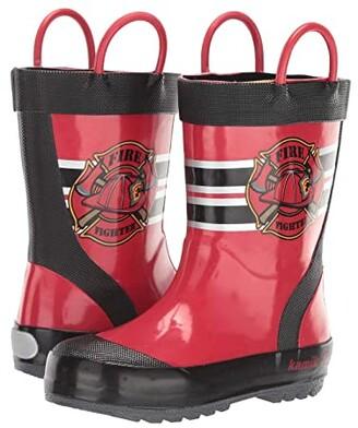 Kamik Fireman (Infant/Toddler/Little Kid) (Red) Kid's Shoes