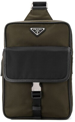 Prada Two-Tone Messenger Bag