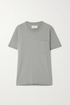 LES TIEN Cotton-jersey T-shirt - Green