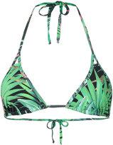 Ermanno Scervino palm bikini top