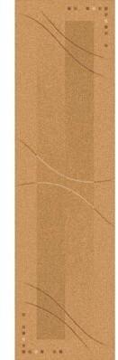 """Astoria Grand Shryock Caliente Flaxen Runner Rug Size: Rectangle 2'1"""" x 7'8"""""""