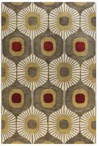 Bashian Rugs Curtain Hand-Tufted Rug