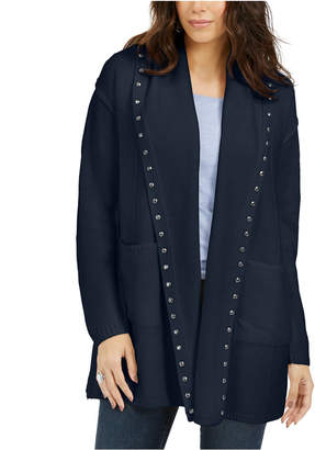 Style&Co. Style & Co Studded Cardigan Sweater
