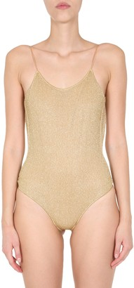 "Oseree Lurex Maillot""One Piece Swimsuit"