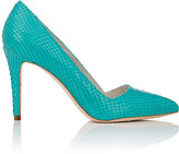 Alice + Olivia Alice & Olivia ALICE & OLIVIA WOMEN'S DINA PUMPS-TURQUOISE SIZE 6