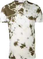 Rodarte Love Hate tie dye T-shirt - unisex - Cotton/Polyester/Rayon - L