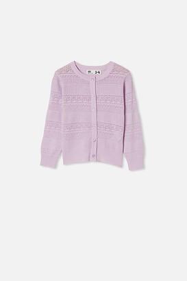 Cotton On Sade Pointelle Cardigan
