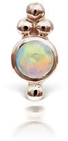 Maria Tash Opal Four Ball Trinity Single Earring - Rose Gold