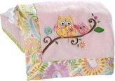 Kids Line 5709EBB Dena Happi Tree Embroidered Boa Blanket (Pink)