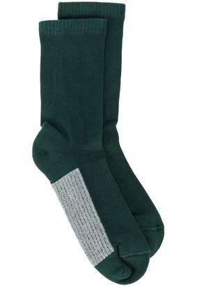 Rick Owens Glitter Ankle Socks