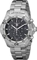 Tag Heuer Men's CAF101EBA0821 Aquaracer Dial Watch