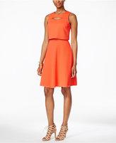 Rachel Roy Textured Popover Dress