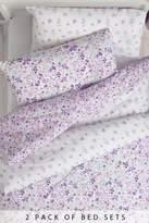 Next 2 Pack Vintage Ditsy Bed Set
