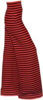 Sonia Rykiel Striped Wool & Cashmere Knit Wide Pants