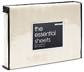Bloomingdale's Essentials Organic Dobby Stripe Sheet Set, California King - 100% Exclusive