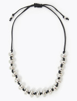 Marks and Spencer Pebble Thong Necklace