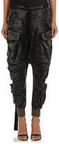 Ben Taverniti Unravel Project Women's Camouflage Silk Satin Cargo Pants