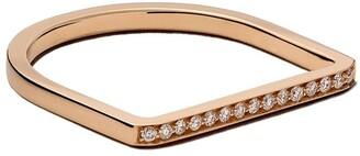 VANRYCKE 18kt rose gold and diamond Medellin ring