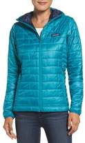 Patagonia Nano Puff(R) Hooded Water Resistant Jacket