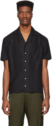 eidos Black Camp Collar Shirt