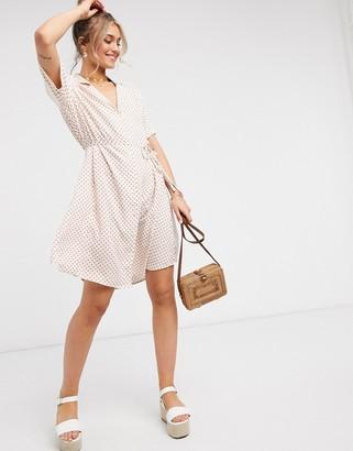 JDY patterned shirt dress