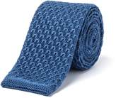 Gibson Teal Knit Tie