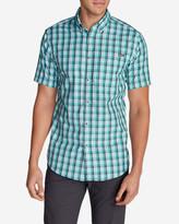 Eddie Bauer Men's On The Go Short-Sleeve Poplin Shirt