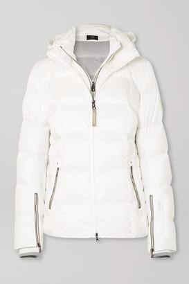 Bogner Sanne-d Hooded Quilted Down Ski Jacket - White