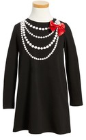 Kate Spade Girl's Trompe L'Oeil Dress